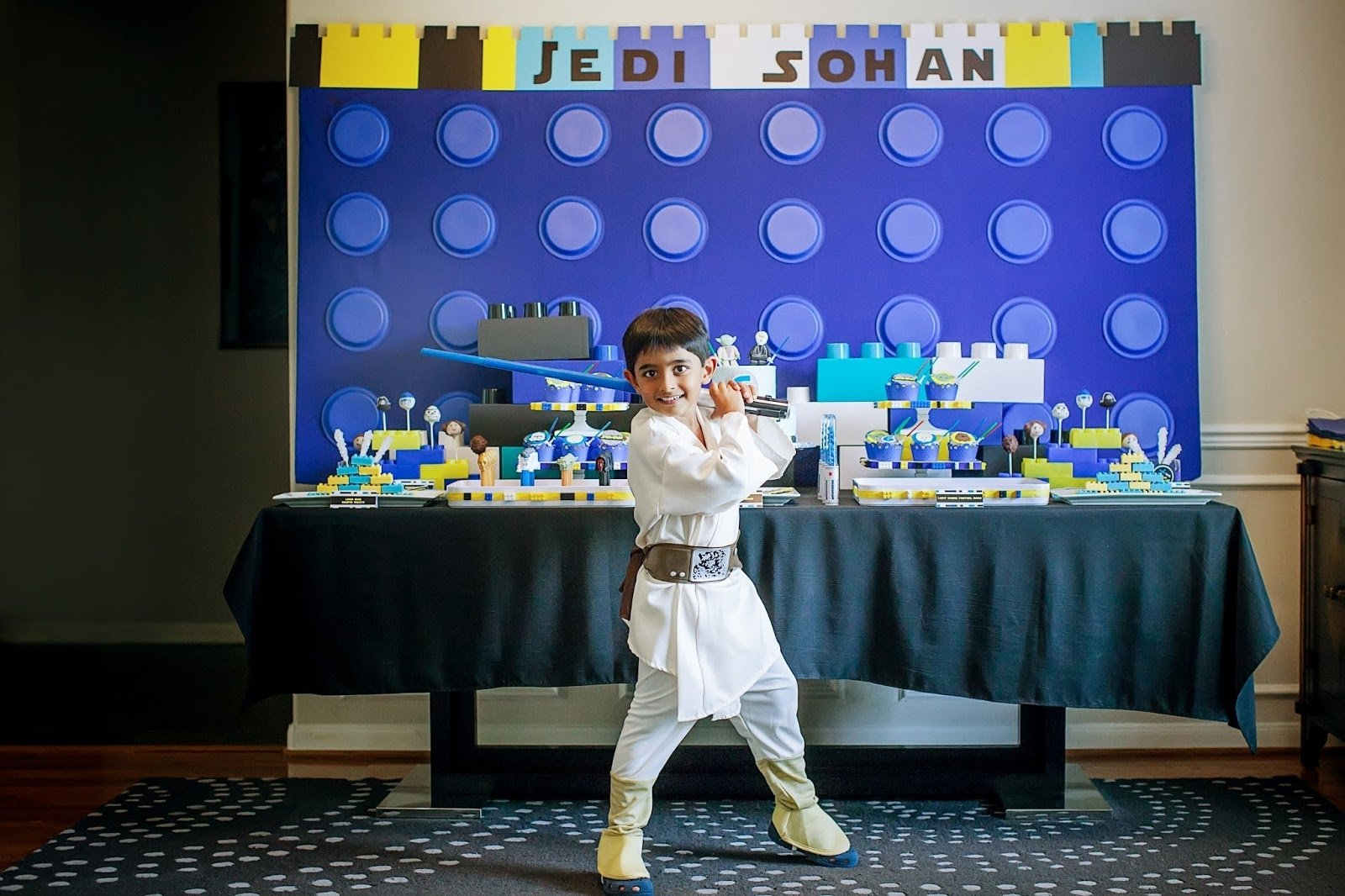 10 Fantastic Lego Star Wars Birthday Party Ideas the party wall legos and lightsabers a lego star wars inspired 2021