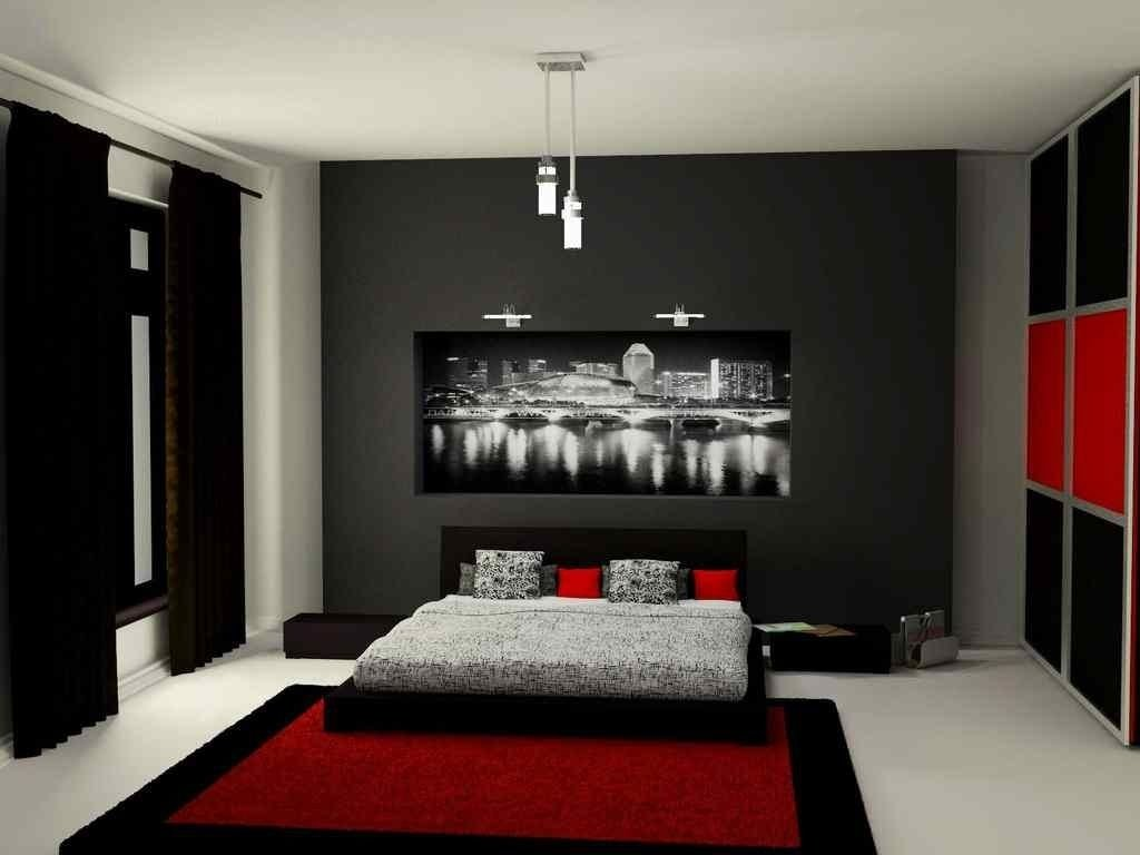 10 Perfect Black And Gray Bedroom Ideas