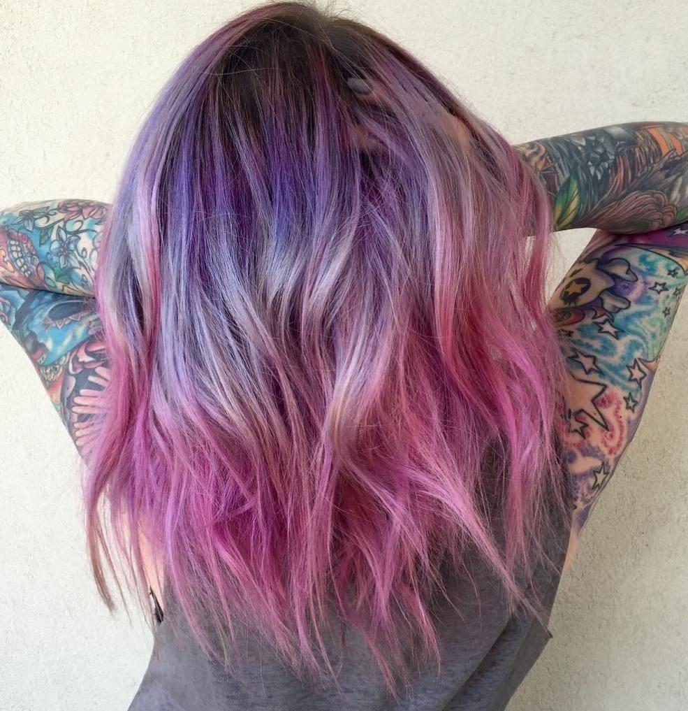 10 Wonderful Pink And Purple Hair Ideas the prettiest pastel purple hair ideas pink ombre hair ombre hair 2020