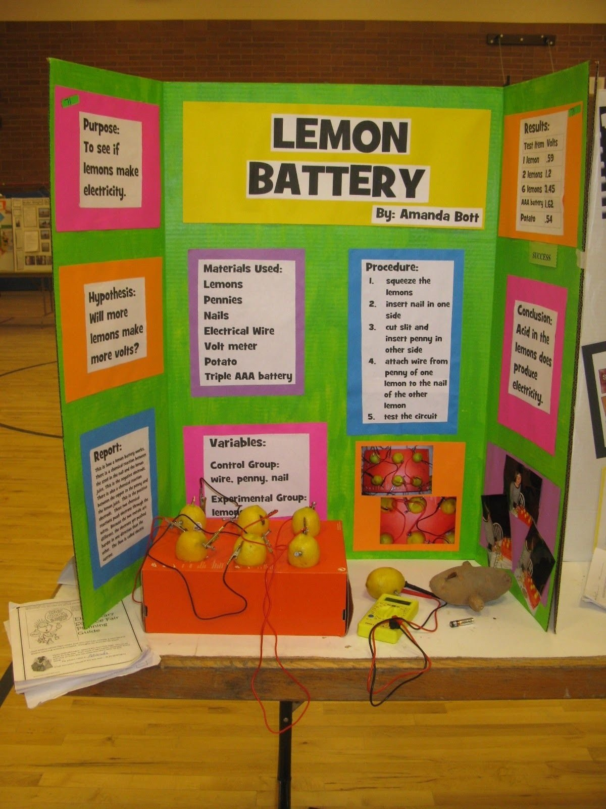 the science of my life: updated: declo science fair with newspaper