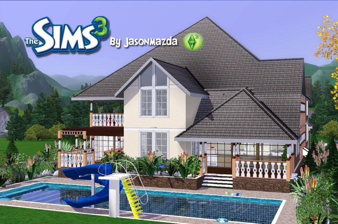 10 Stylish House Ideas For Sims 3 the sims 3 house designs prestigious elegance youtube 1 2021