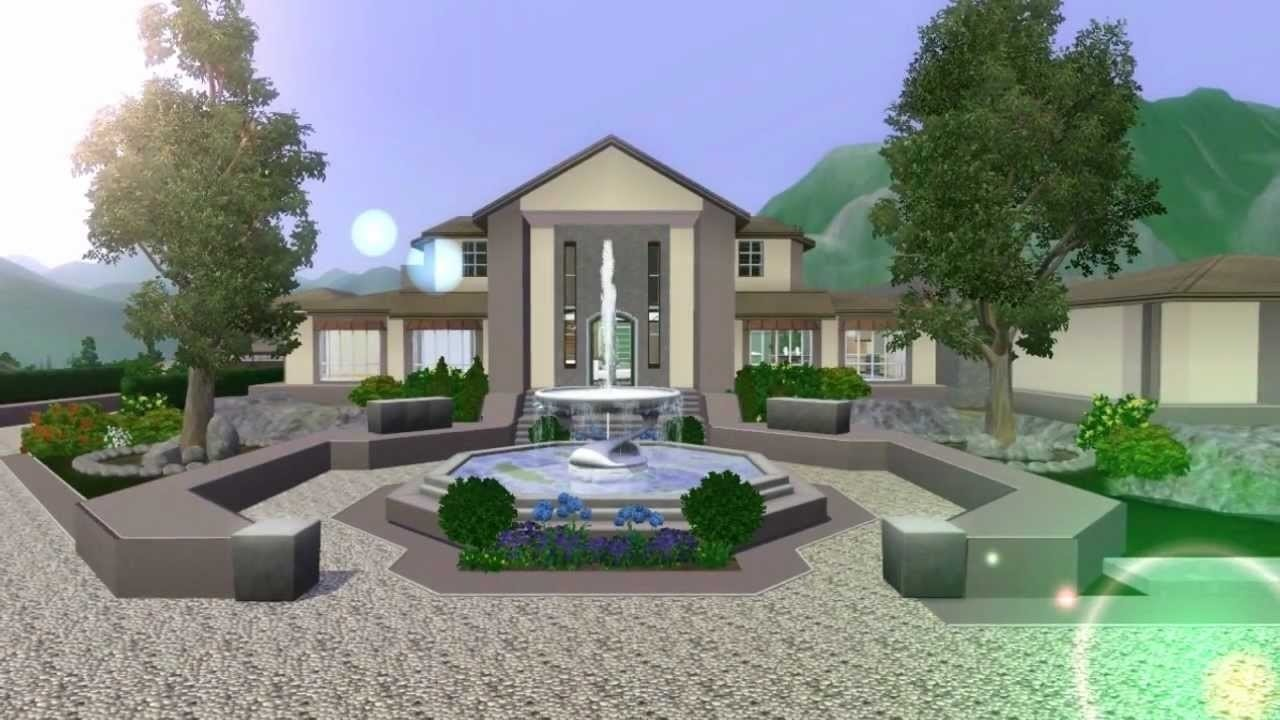 10 Stylish House Ideas For Sims 3 the sims 3 mansion design ranch no custom content the good earth 1 2021