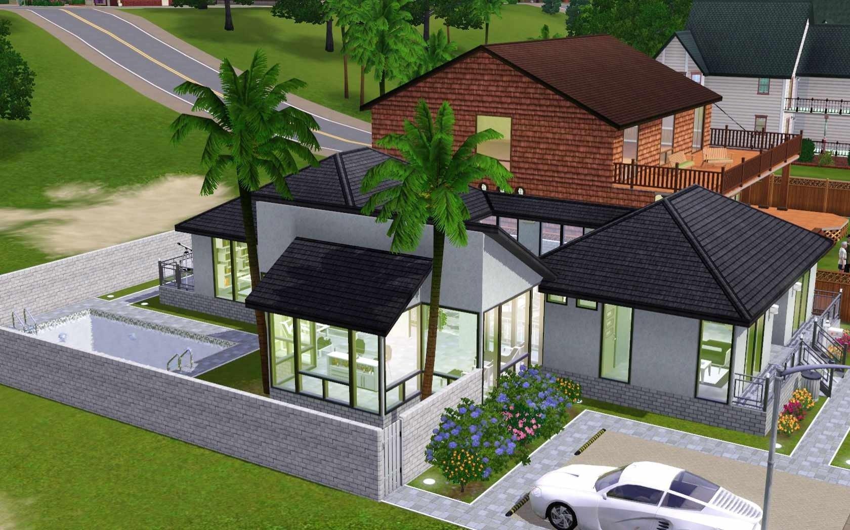 10 Stylish House Ideas For Sims 3