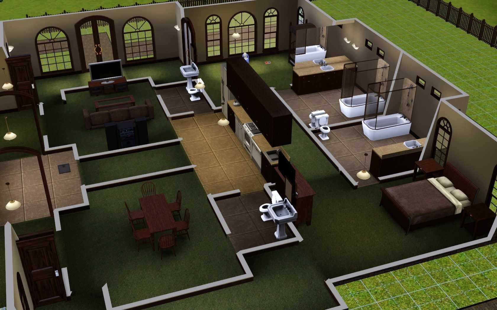 10 Stylish House Ideas For Sims 3 the sims 3 room build ideas and examples 6 2021