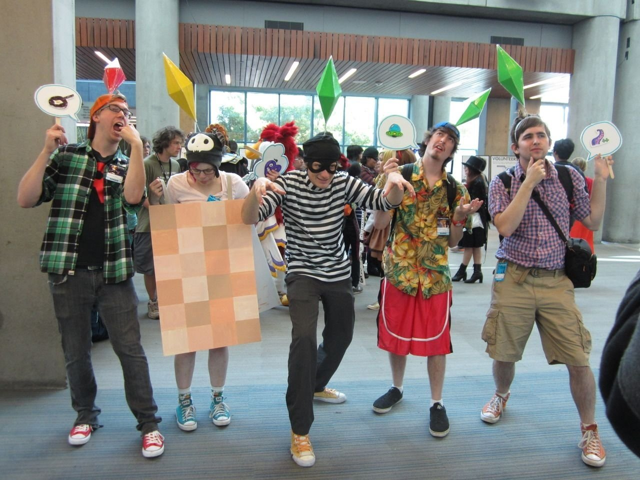 10 Pretty Comic Con Costume Ideas For Guys the sims cosplay haha this is great potential comic con costume 1