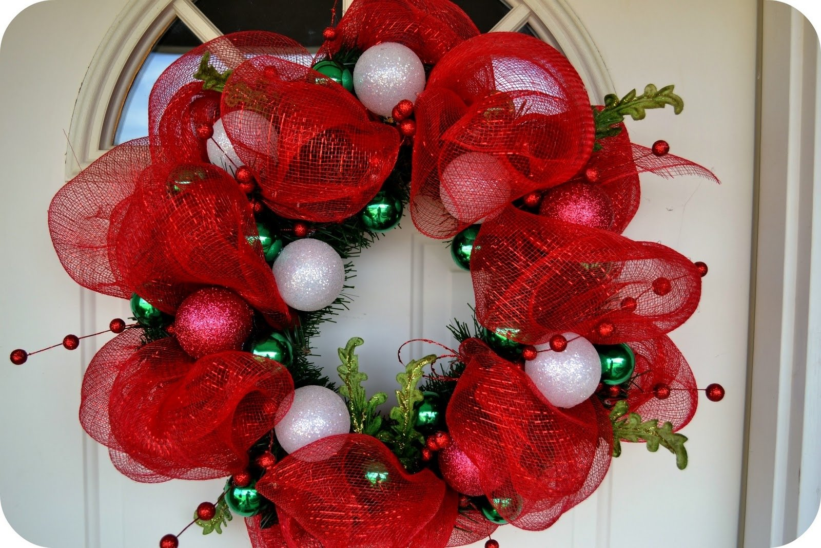 10 Ideal Deco Mesh Christmas Wreath Ideas the sparacino chronicles christmas deco mesh wreath tutorial 1 2020