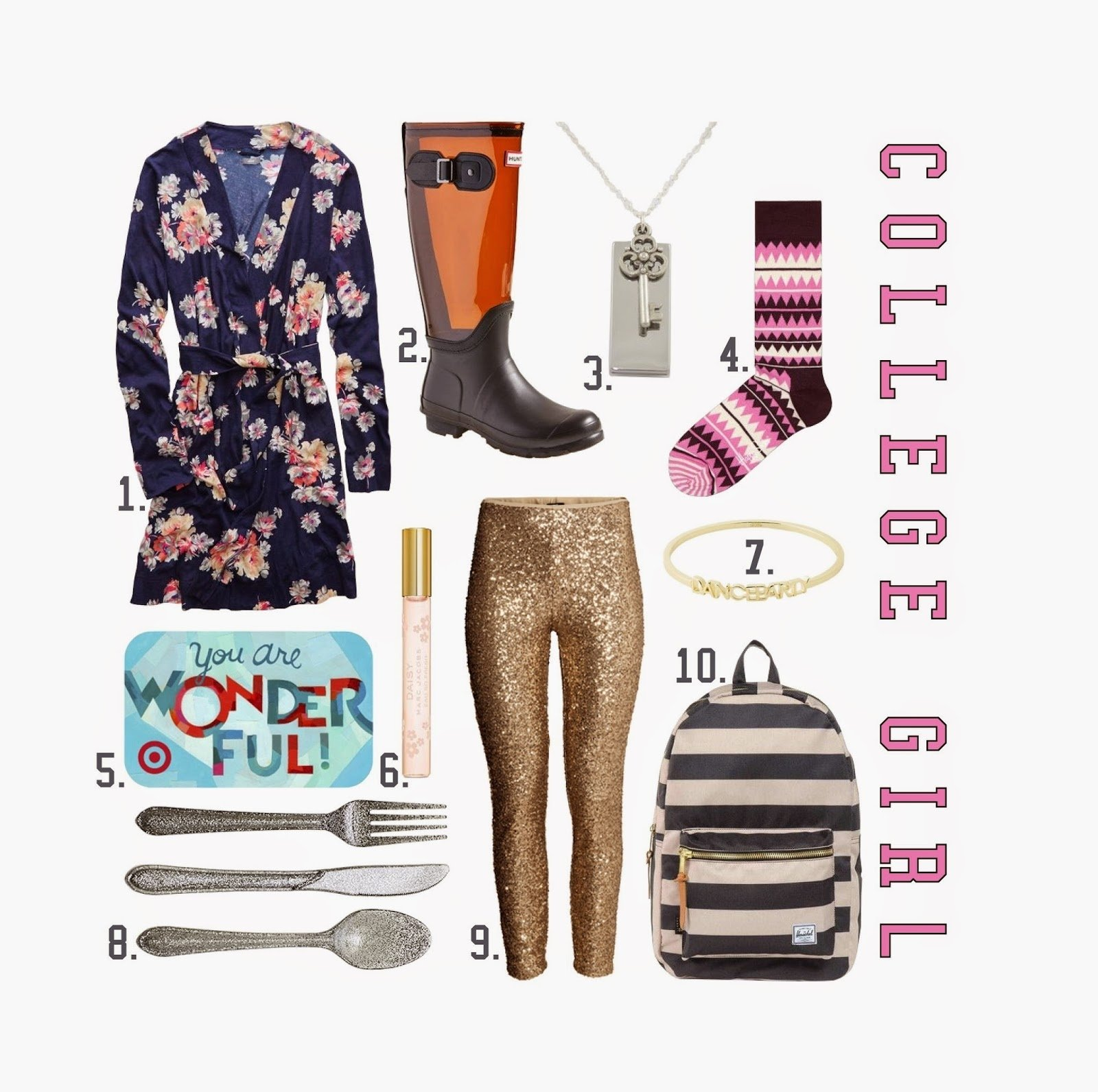the spinsterhood diaries: gift guide: college girl (2014)