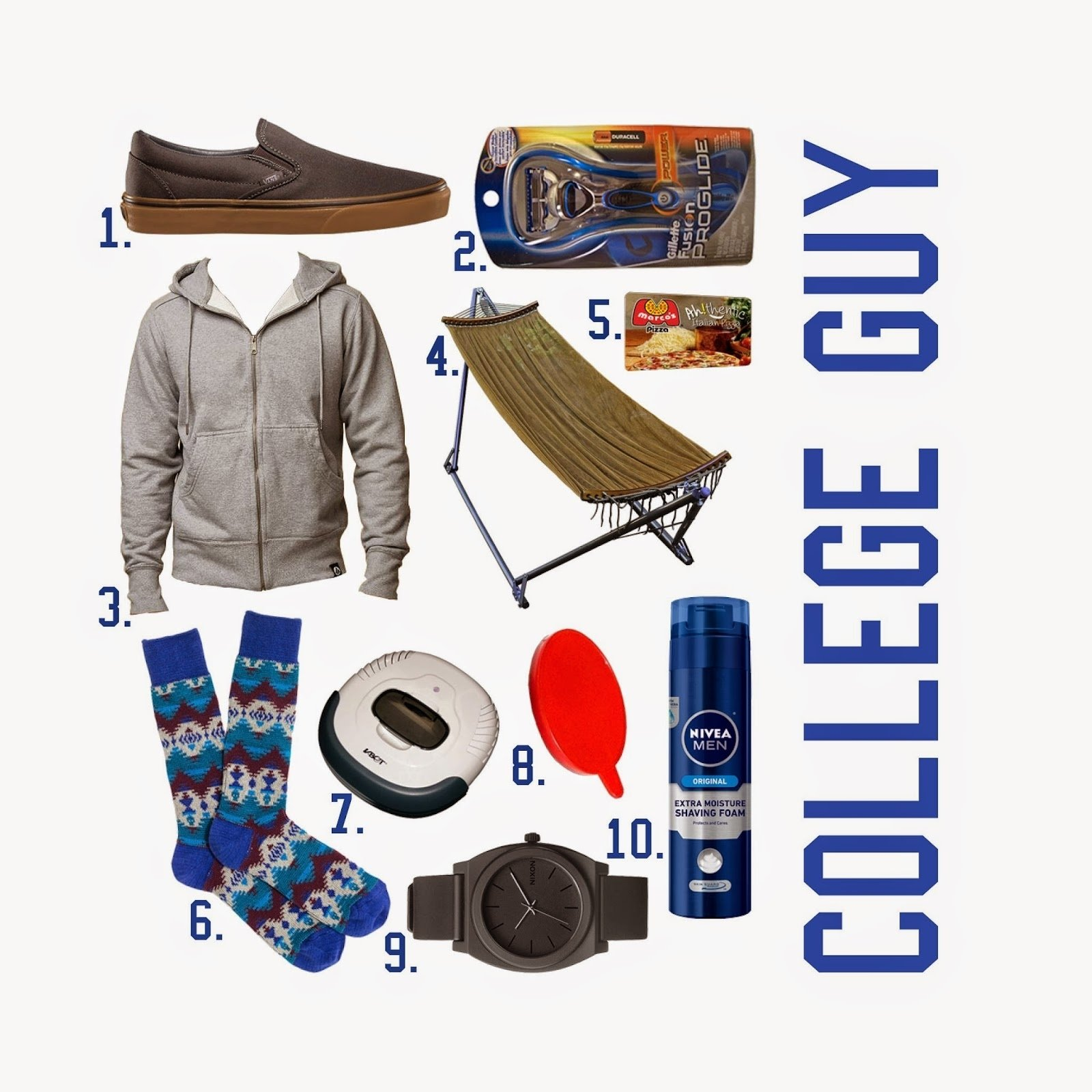 the spinsterhood diaries: gift guide: college guy