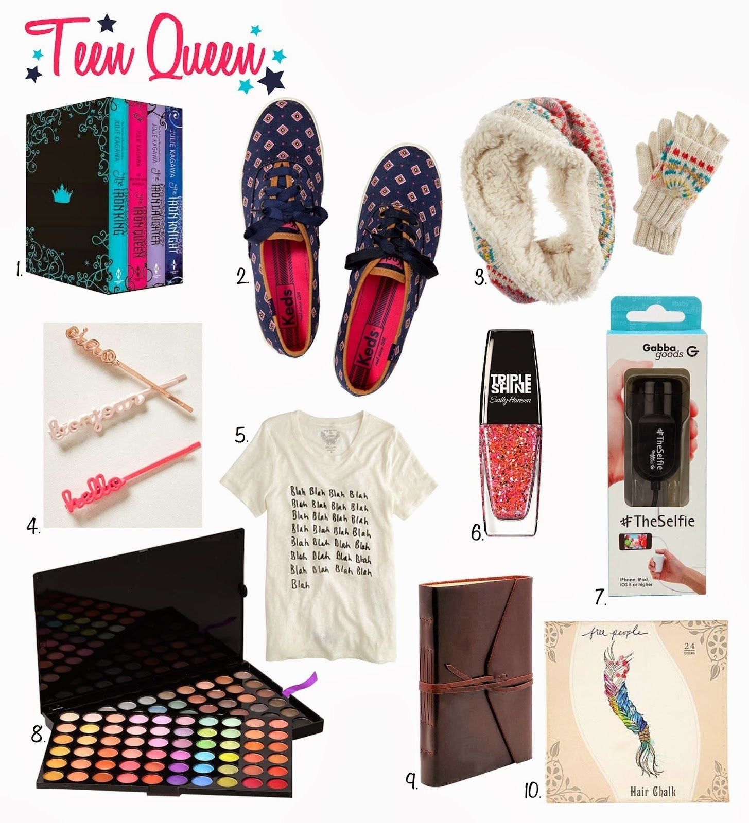 10 Stylish Christmas Gift Ideas For Teenagers 2013 the spinsterhood diaries gift guide teenage girl