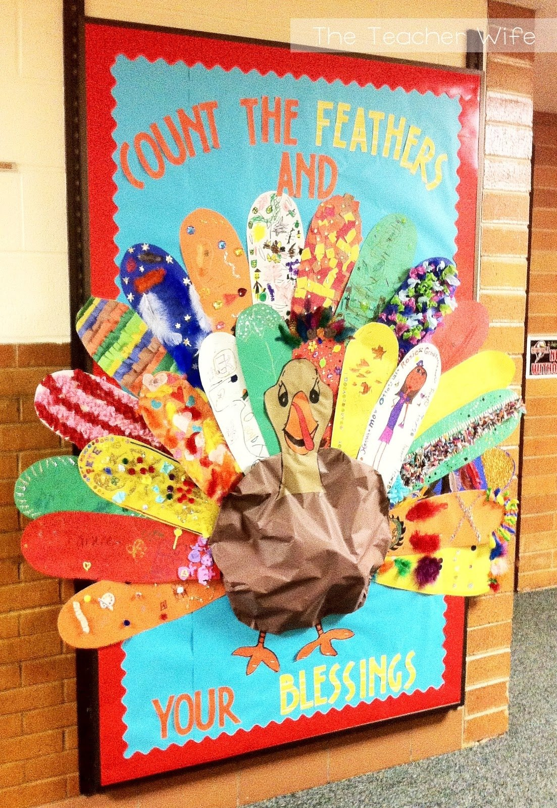 10 Nice Bulletin Board Ideas For Thanksgiving the teacher wife thanksgiving bulletin board