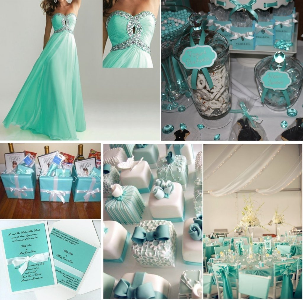 10 Attractive Tiffany Blue Wedding Theme Ideas the tiffany blue theme wedding ideas lianggeyuan123 50th anniversary 2020