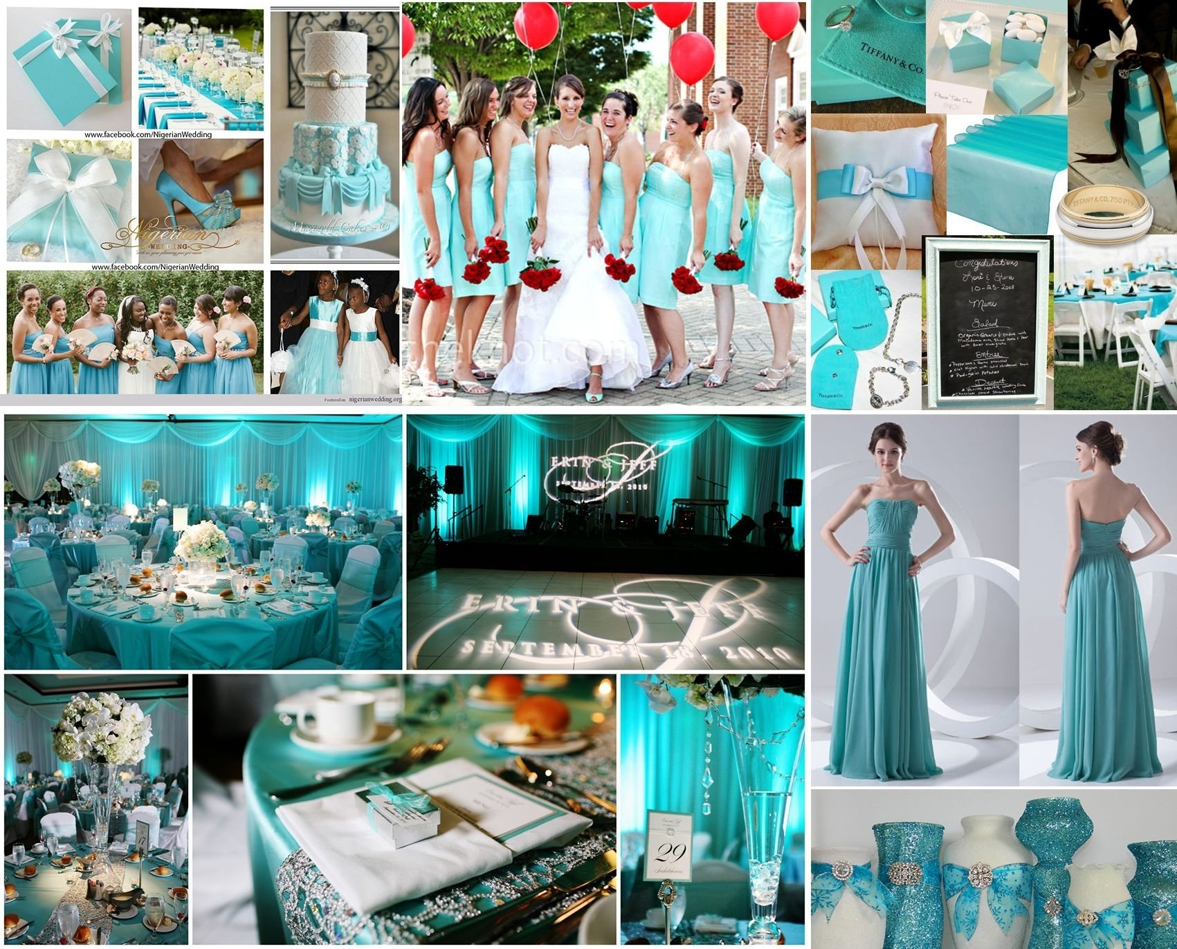 10 Attractive Tiffany Blue Wedding Theme Ideas