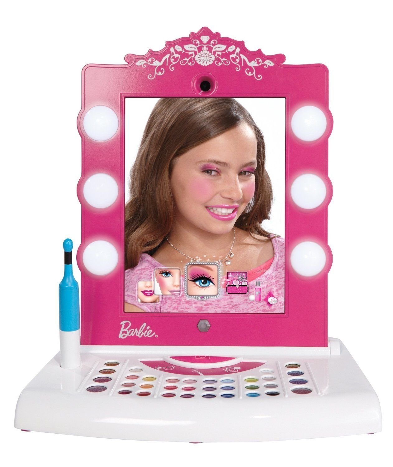 10 Lovely Gift Ideas For Girls Age 7 the totally awesome barbie digital makeover mirror for girls