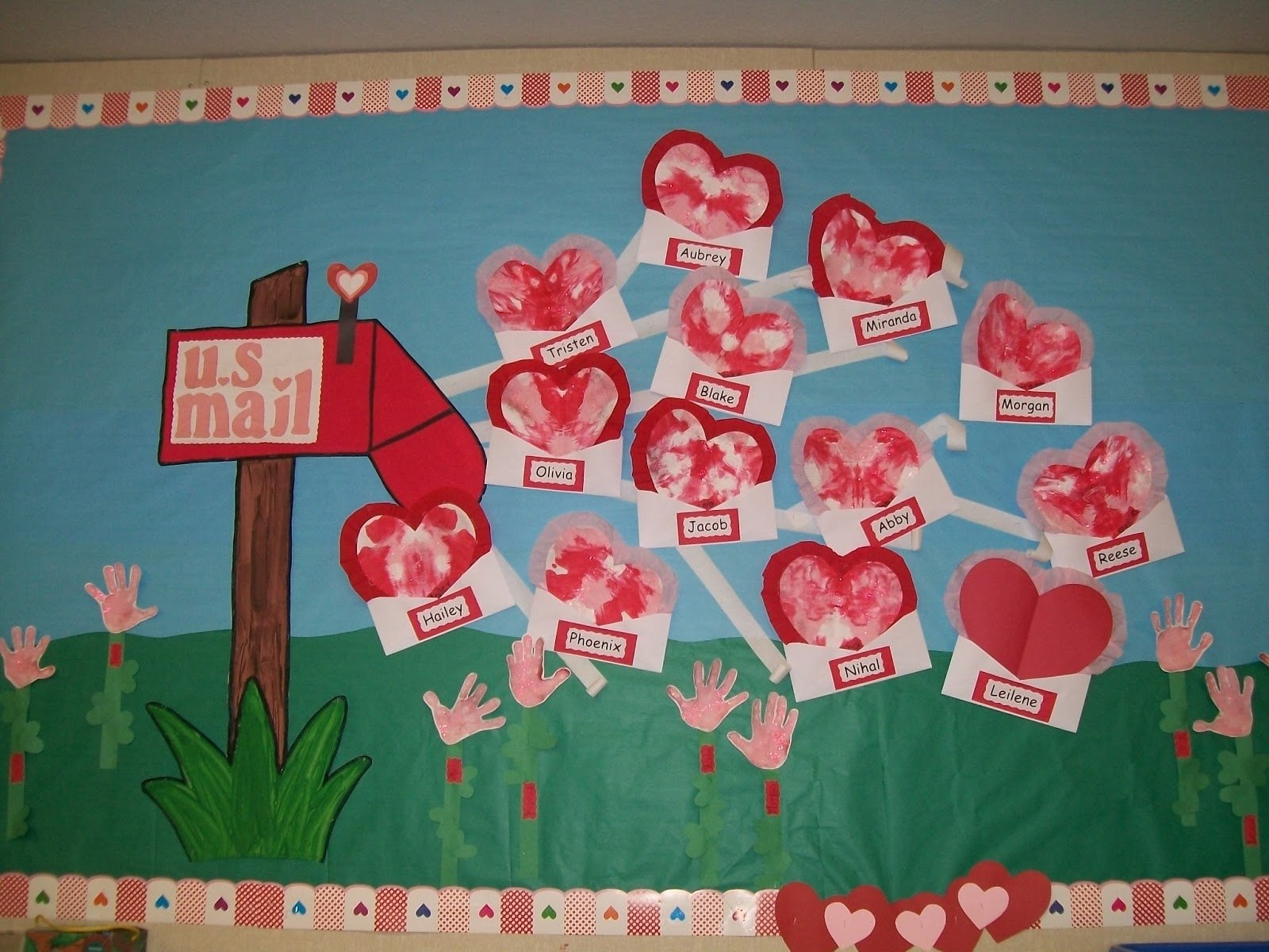 10 Pretty Valentine Bulletin Board Ideas Teachers