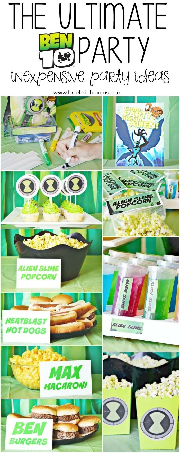 10 Trendy Ben 10 Birthday Party Ideas the ultimate ben 10 party ben 10 party ben 10 and free printables