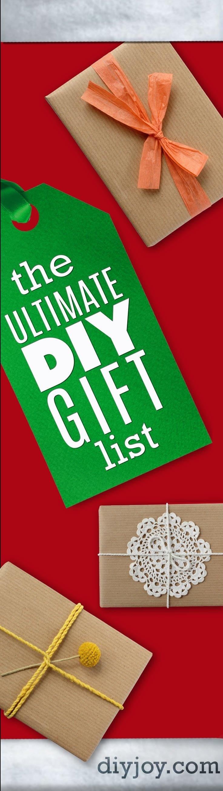 10 Trendy Gift Ideas For Girlfriends Parents the ultimate diy christmas gifts list 2021