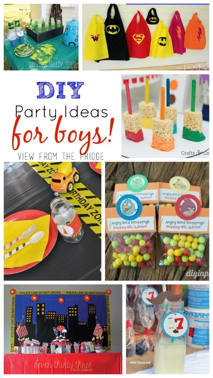 10 Stylish Ideas For Boys Birthday Party the ultimate diy kids birthday party idea round up view from the 2