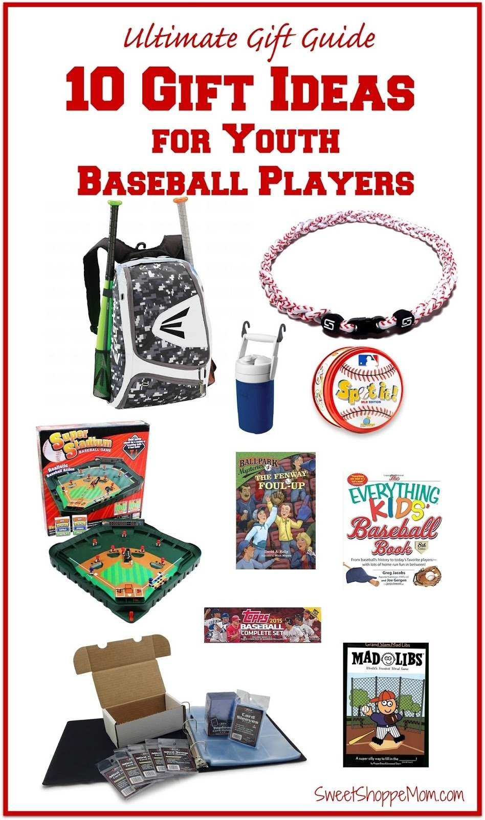 the ultimate gift guide - 10 gift ideas for youth baseball players