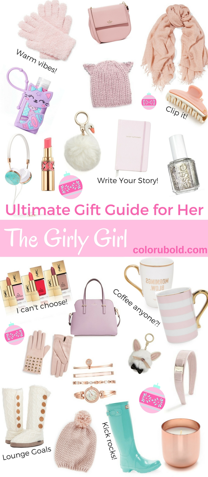 10 Elegant Birthday Gift Ideas For A Teenage Girl the ultimate gift guide for the girly girl teen girl gifts gift 2020