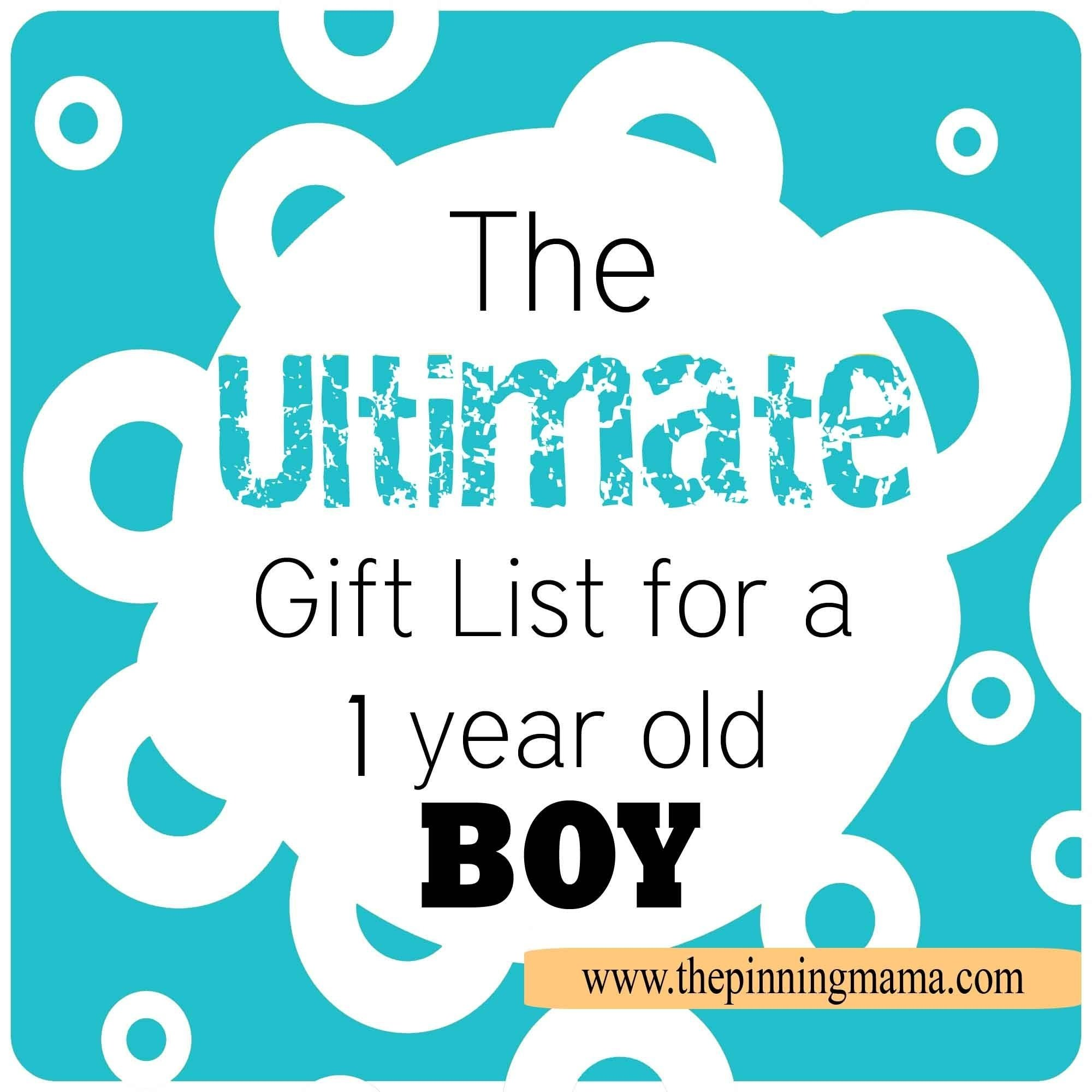 the ultimate gift list for a 1 year old boy! | 1st birthday