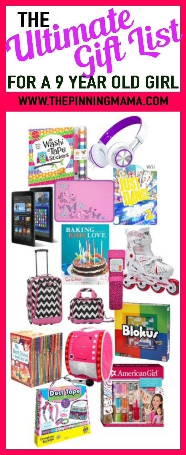 Christmas Gifts For Girls Age 9.Christmas Present For Girl Age 9 The Christmas Gifts