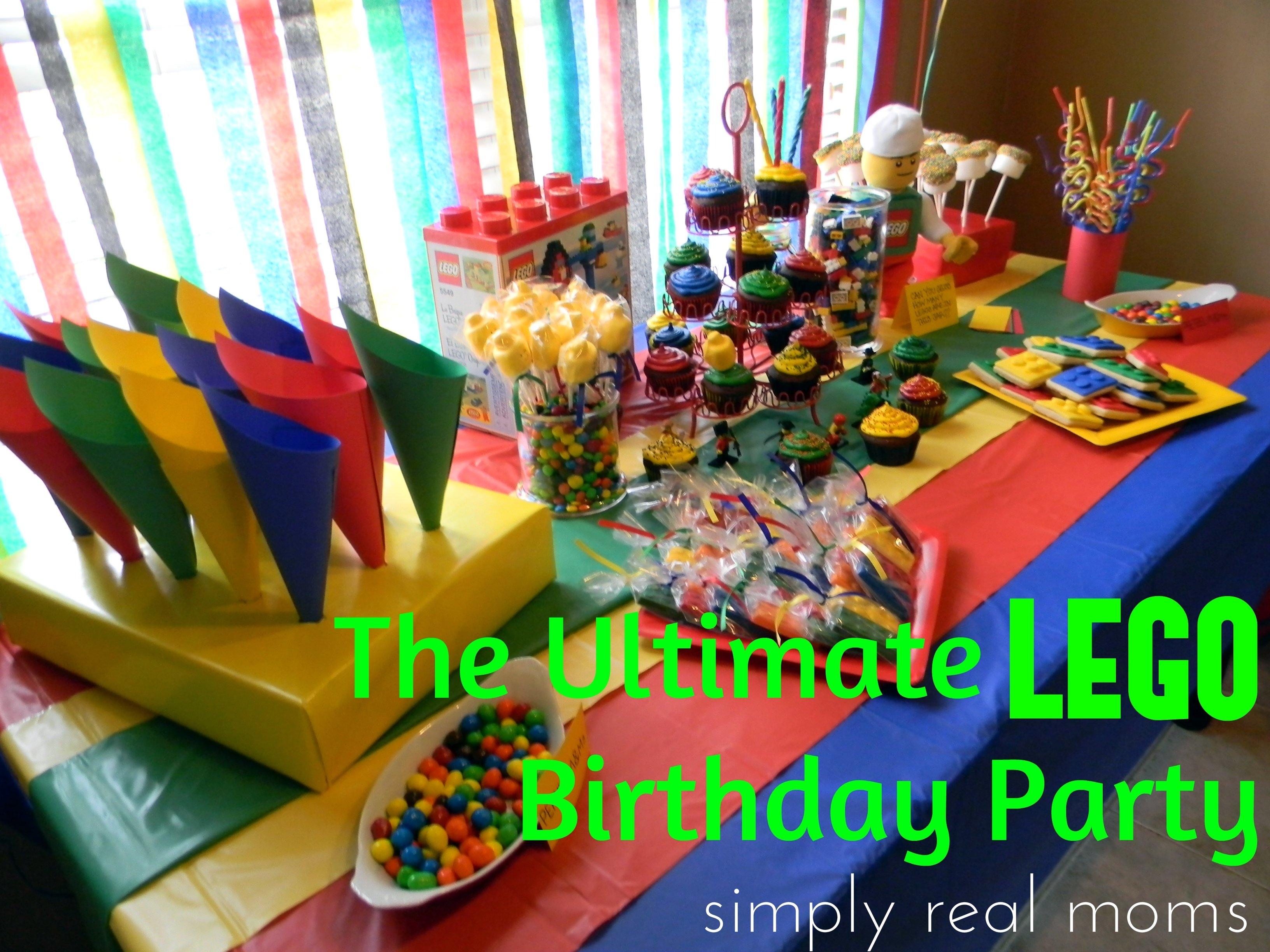 10 Nice Lego Birthday Party Food Ideas the ultimate lego birthday party tyreses room ideas pinterest 2020