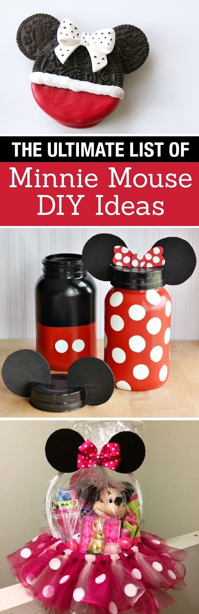 10 Stylish Red Minnie Mouse Party Ideas the ultimate list of minnie mouse craft ideas disney party ideas
