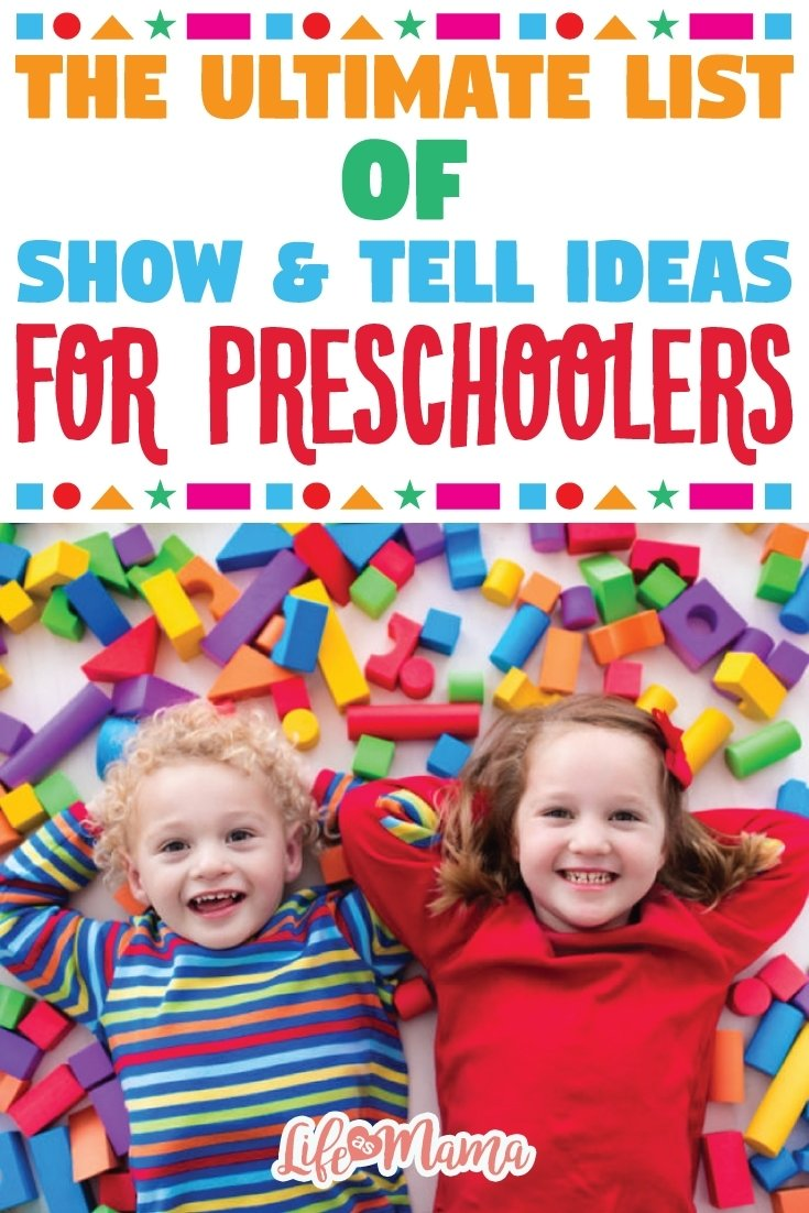 10 Amazing Show And Tell Ideas For Kids the ultimate list of show tell ideas for preschoolers 1 2020