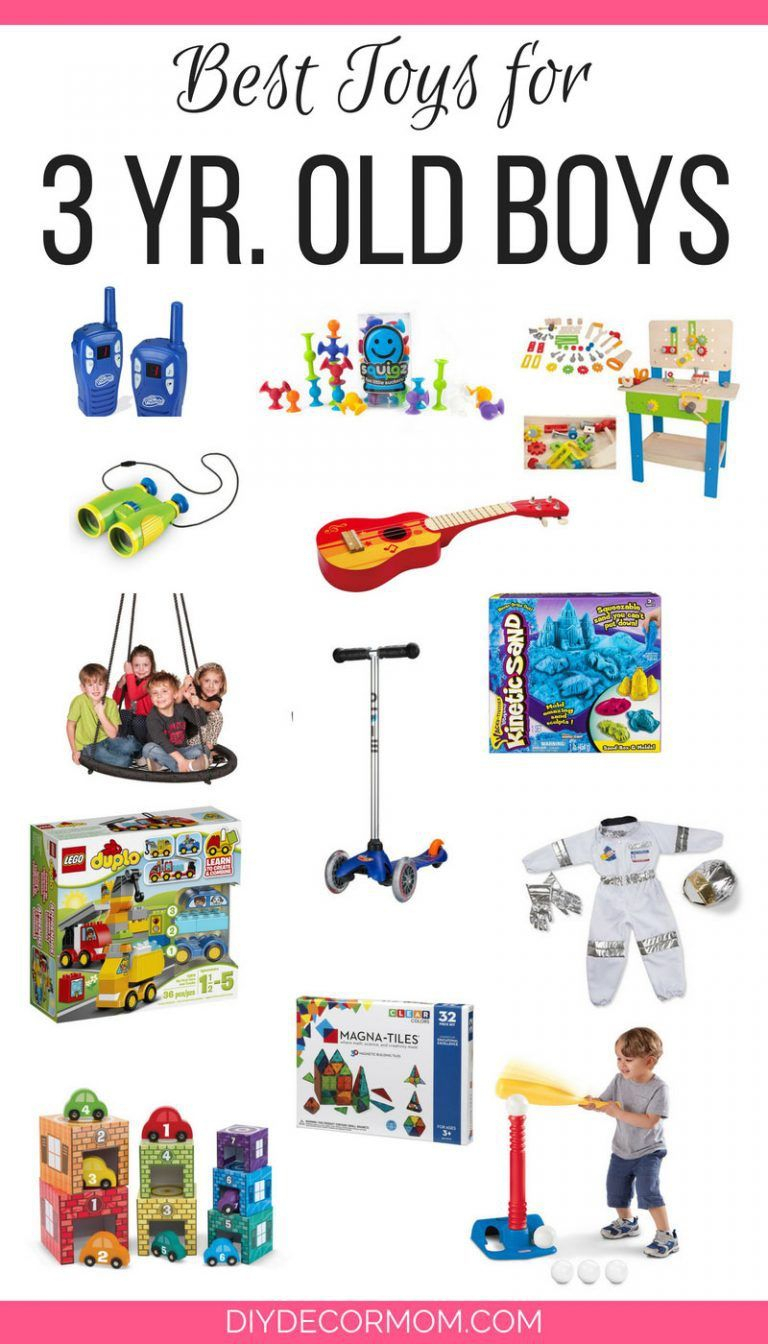 the ultimate list of the best toys for 3 year old boys including fun