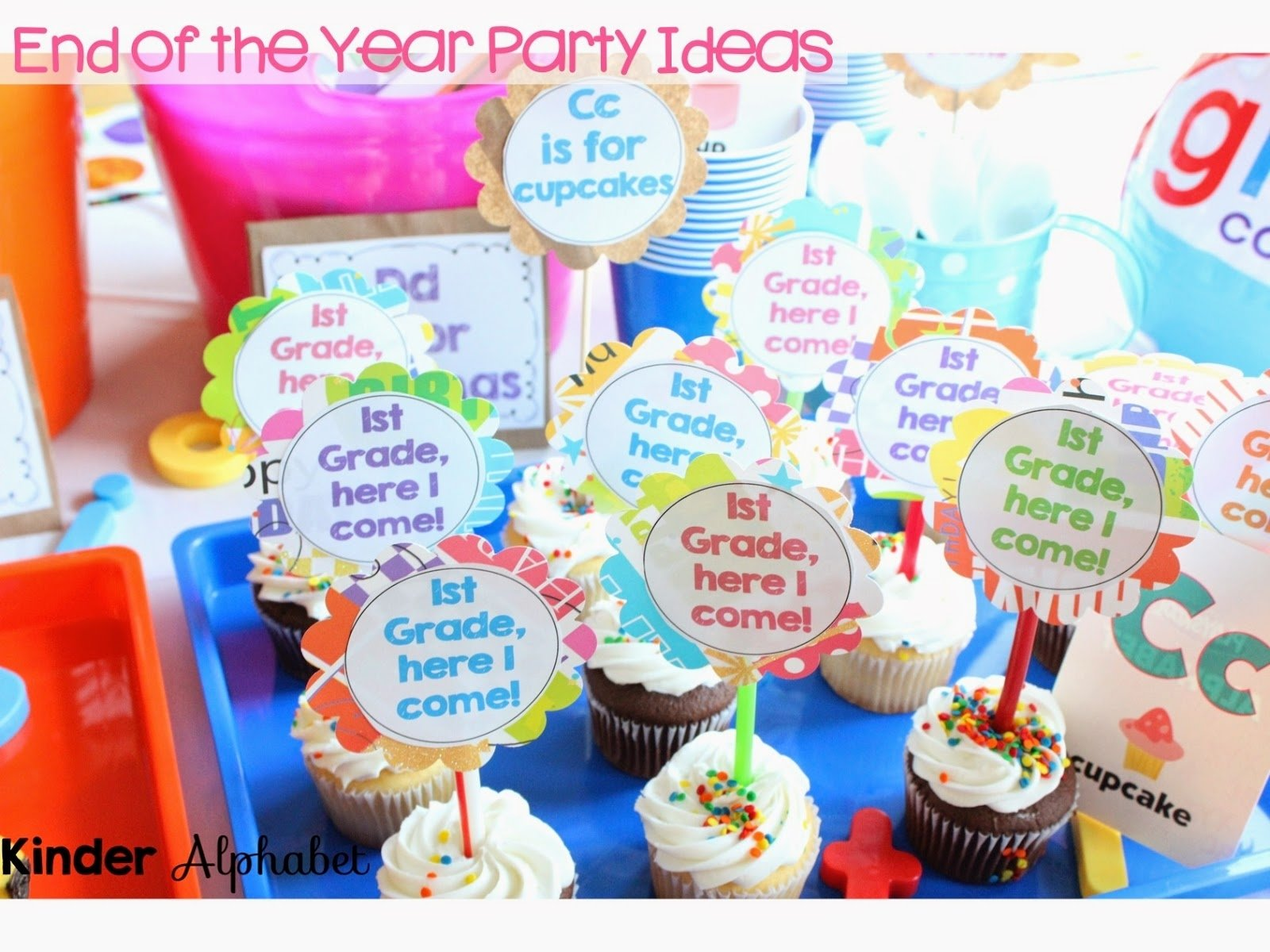 10 Lovely End Of Year Party Ideas