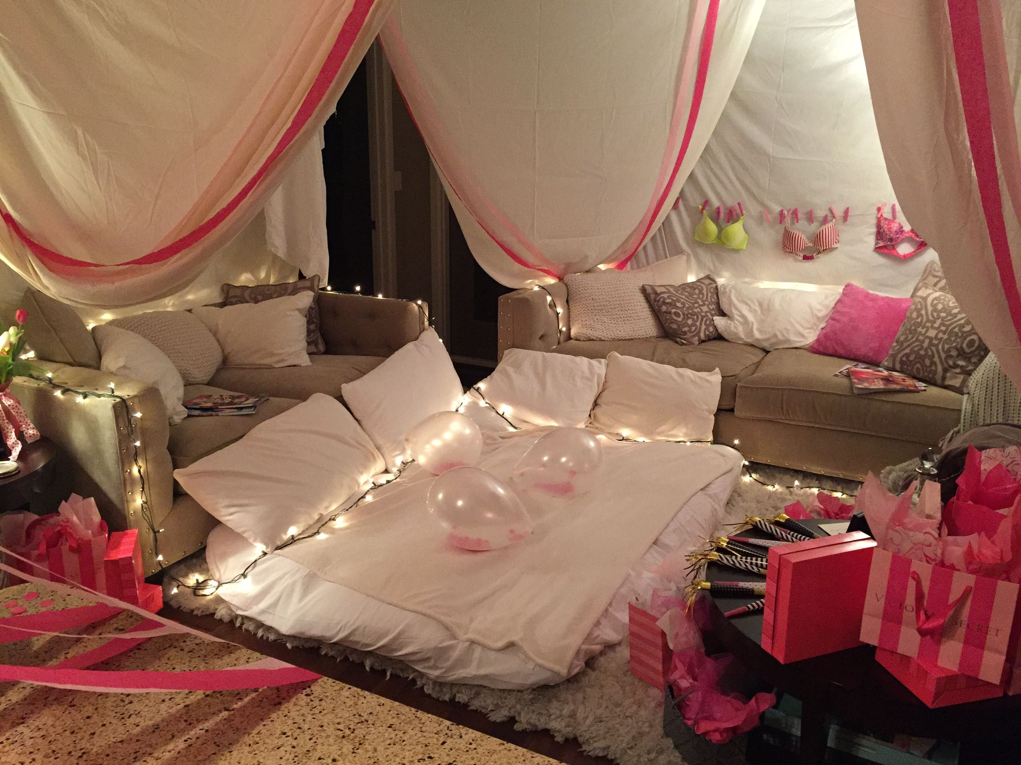 10 Lovely Grown Up Slumber Party Ideas the ultimate slumber party fort slumberparty bacheloretteparty 2020
