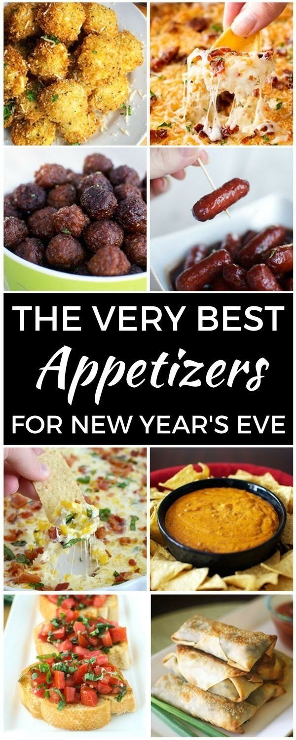 10 Gorgeous New Years Eve Dinner Ideas Menu the very best appetizers for new years eve nye food and snacks 1 2020