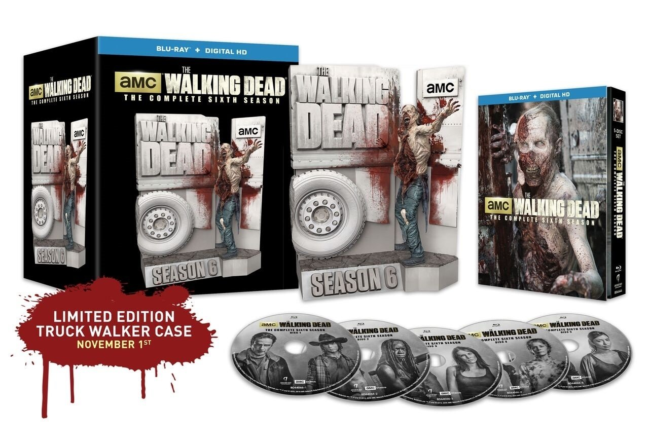 10 Fashionable The Walking Dead Gift Ideas the walking dead complete sixth season le set makes a great gift idea 2020