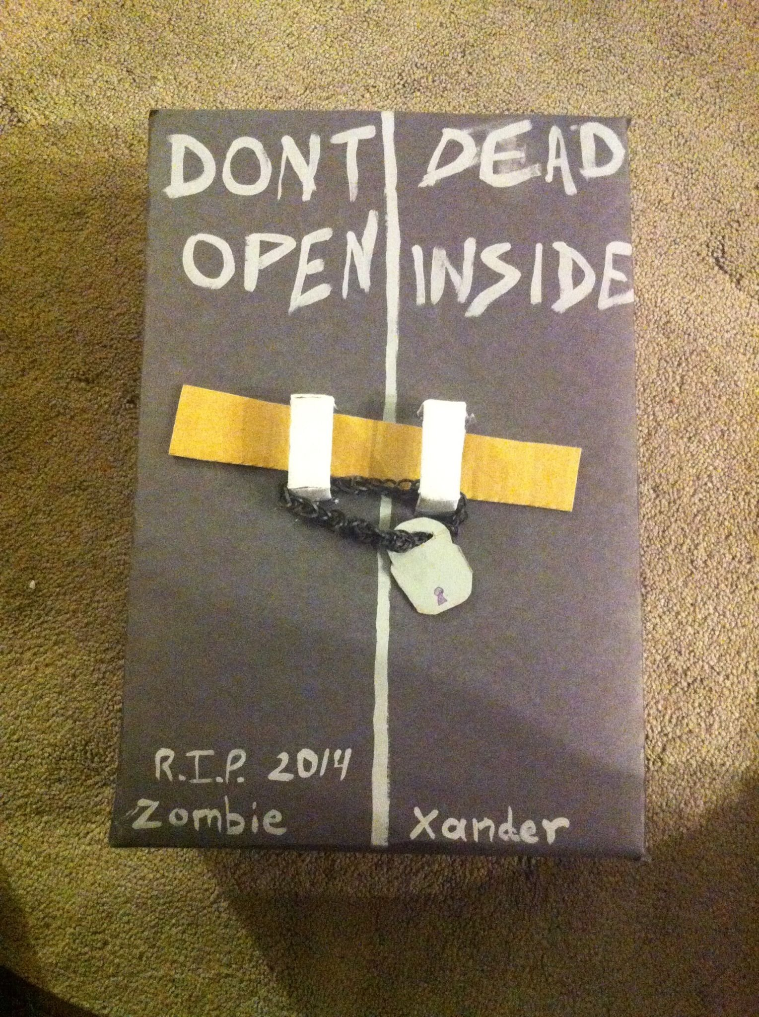 10 Fashionable The Walking Dead Gift Ideas the walking dead valentine box valentines day pinterest box 2020