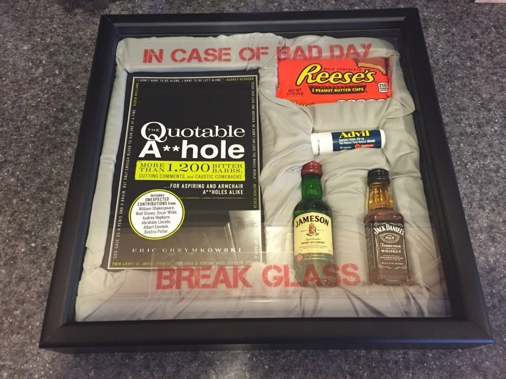 10 Best Gift Ideas For Yankee Swap the white elephant gift i made for work funny 2 2020