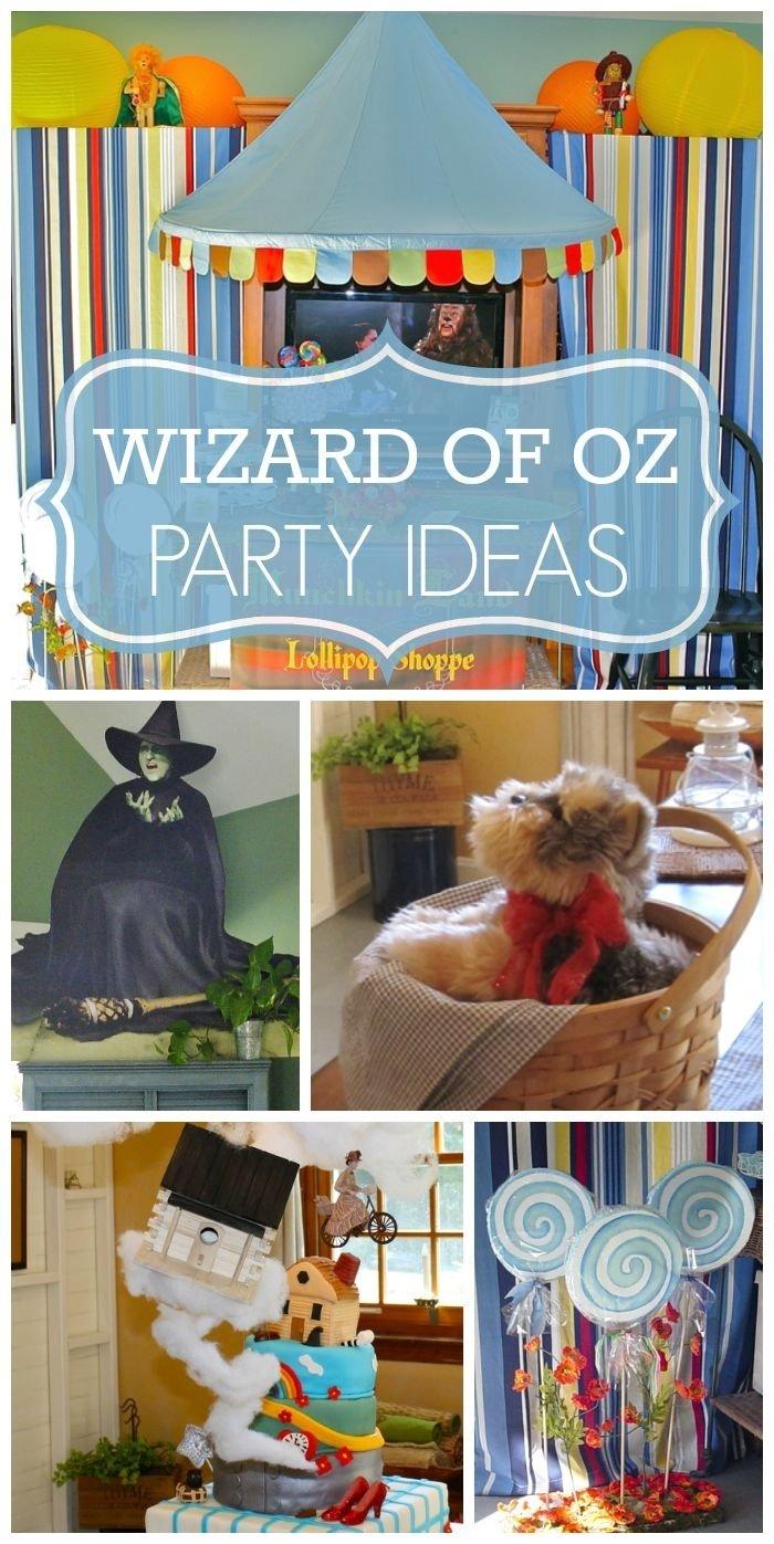 10 Unique Wizard Of Oz Decoration Ideas the wizard of oz baby shower wizard of oz baby shower fun baby 1 2020