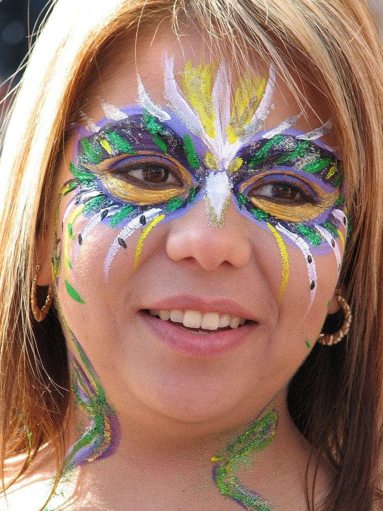 10 Wonderful Mardi Gras Face Painting Ideas the worlds best photosmrp1001 flickr hive mind 2020