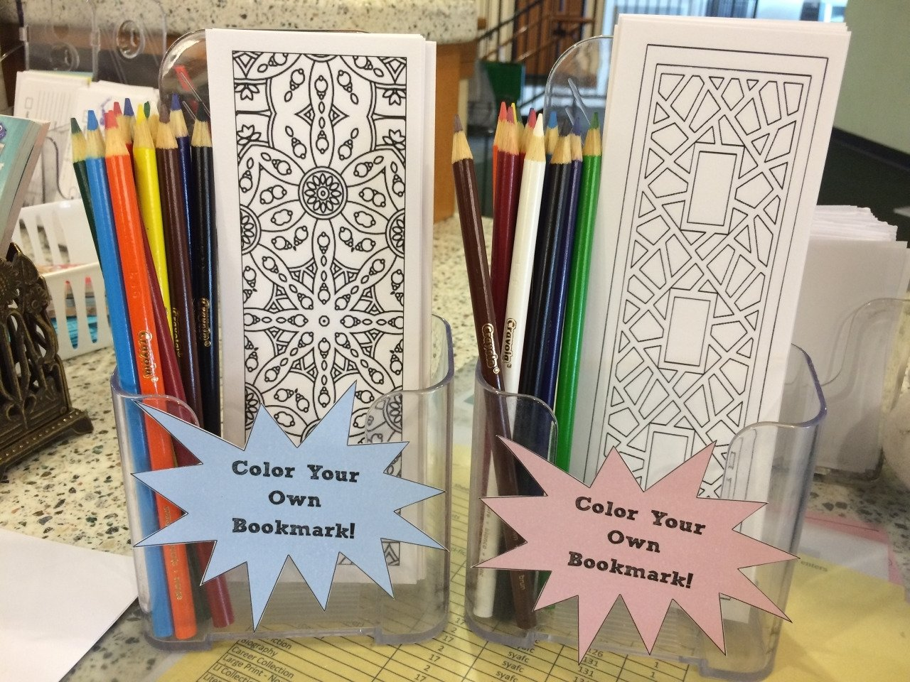 10 Best Fun Contest Ideas For Work thecommonlibrarian robotpancreasattack made some bookmarks at work 2021