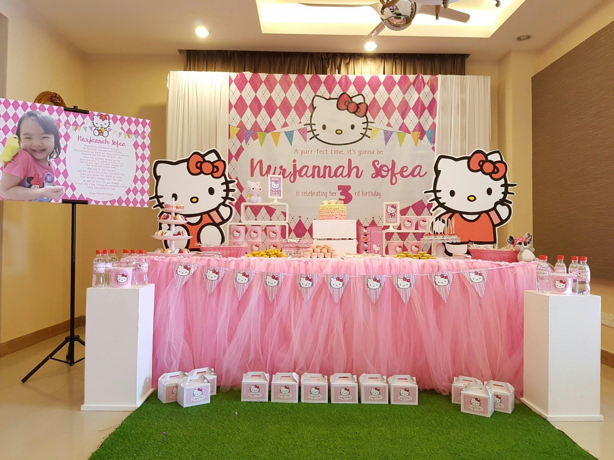 10 Cute Hello Kitty Theme Party Ideas & 10 Fashionable Hello Kitty Theme Party Ideas