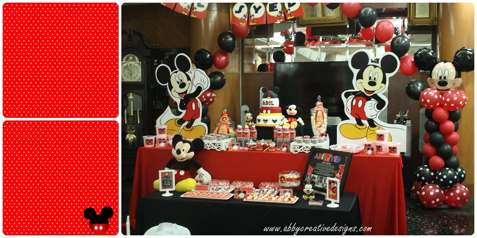 10 Gorgeous Mickey Mouse Birthday Party Ideas 1St Birthday theme mickey mouse 1st birthday party its more than just a party 2020