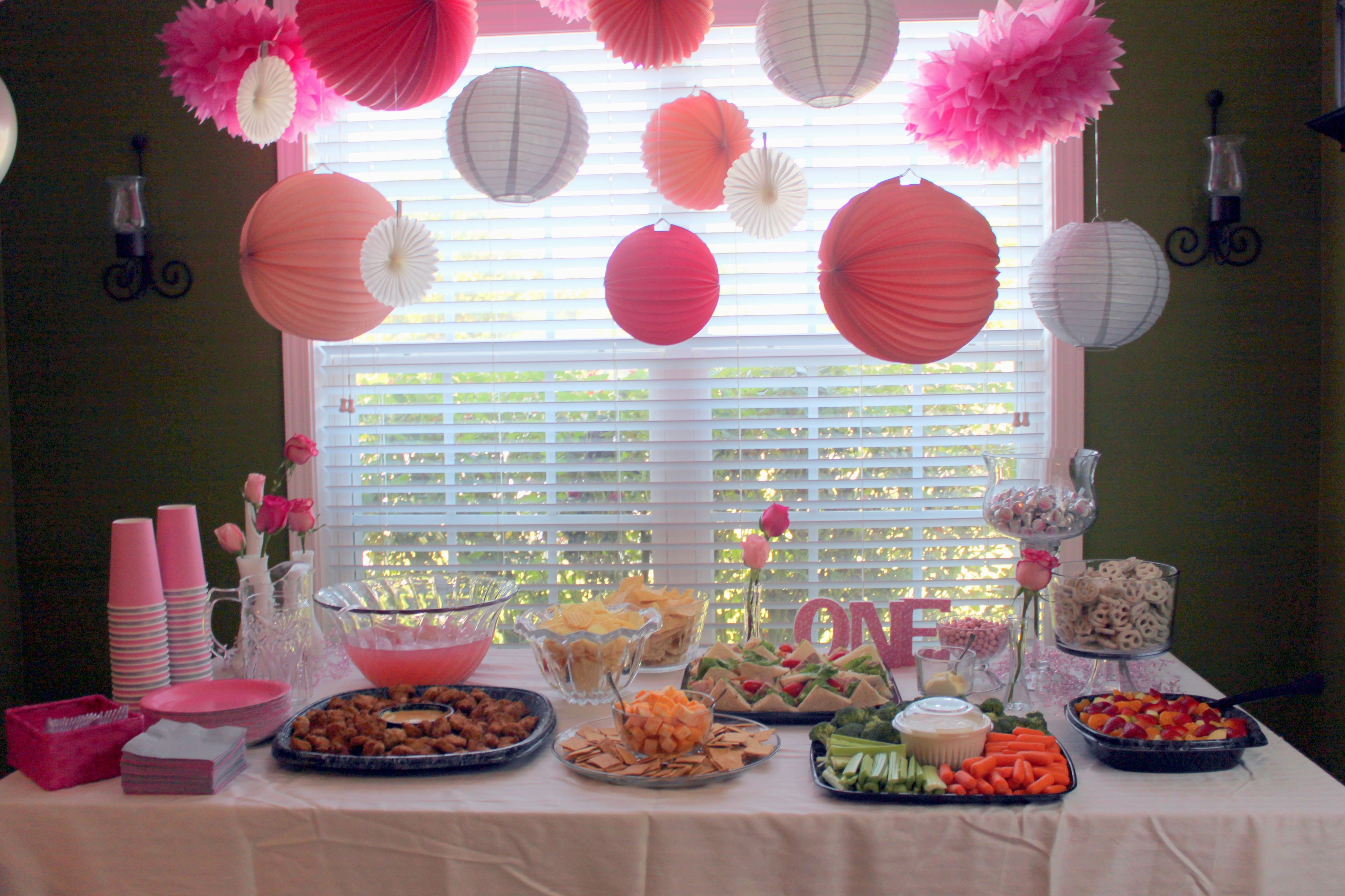 10 Lovely Baby Girl Birthday Party Ideas theme party ideas for baby girl decorating of party 1 2020