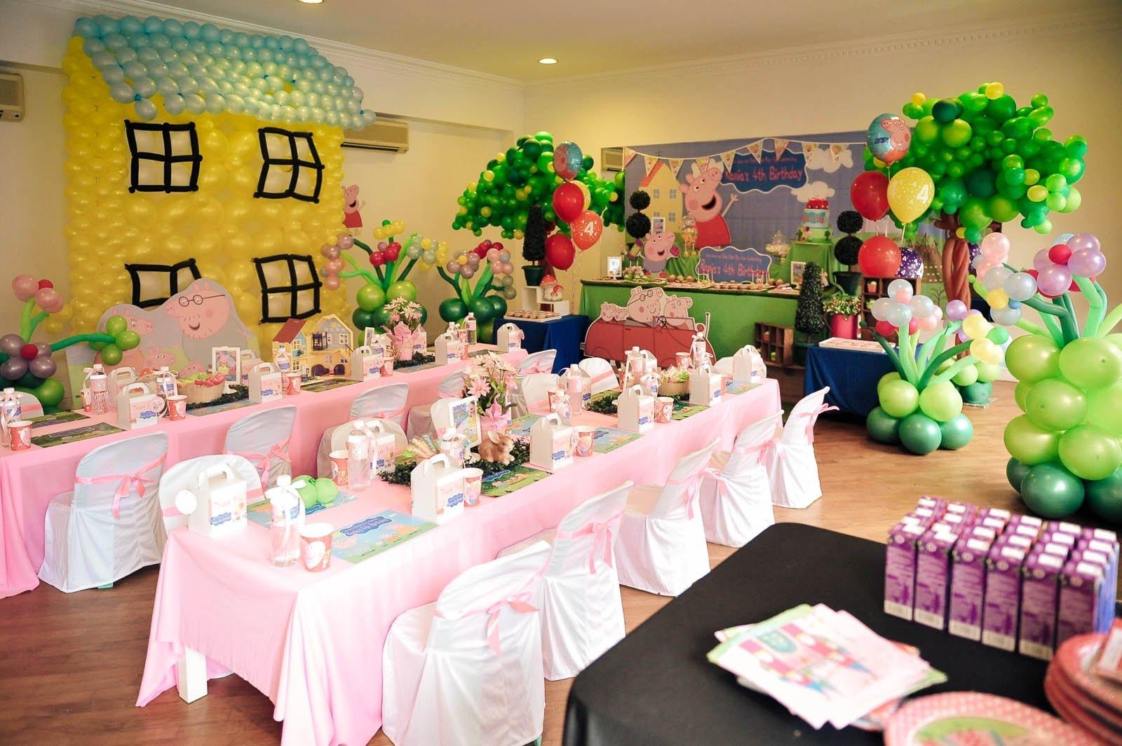 10 Unique Peppa Pig Birthday Party Ideas theme peppa pig abby creative designsabby sue backdrops 2021