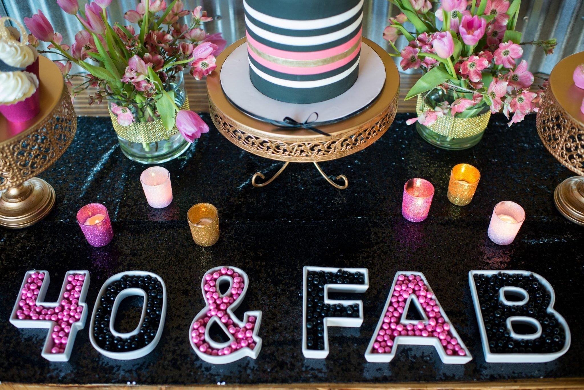10 Nice Ideas For 40Th Birthday Celebration themes baby shower 40th birthday celebration ideas melbourne 2020