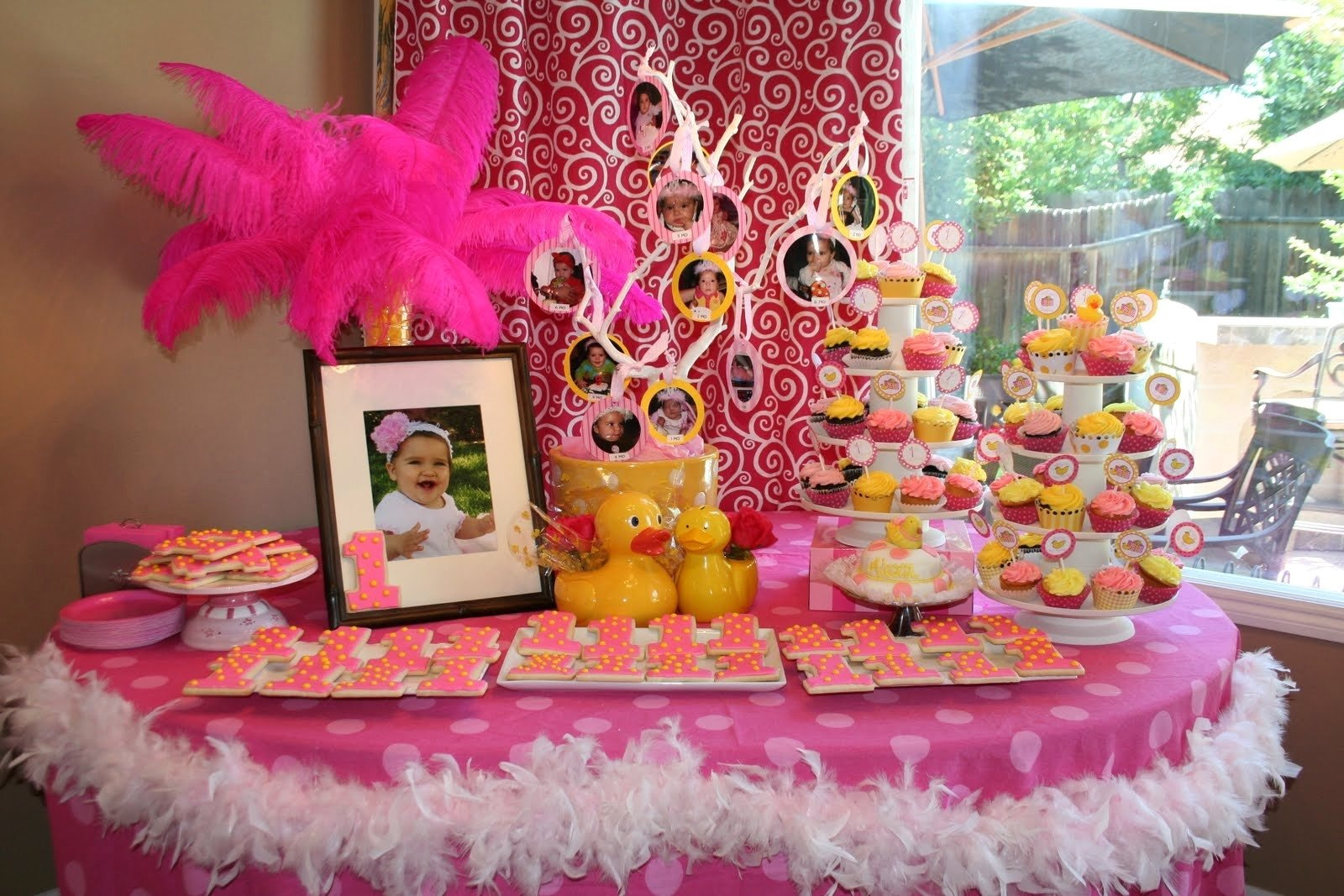 10 Fabulous Baby First Birthday Party Ideas themes baby shower babys first birthday party cake ideas with avec 2020