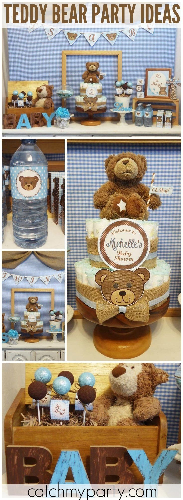 10 Fantastic Teddy Bear Baby Shower Ideas themes baby shower teddy bear baby shower decorations ideas with 1 2020