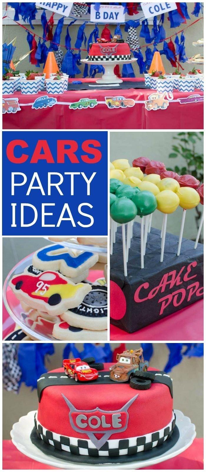 10 Pretty Party Ideas For 3 Year Old Boy Themes Birthday