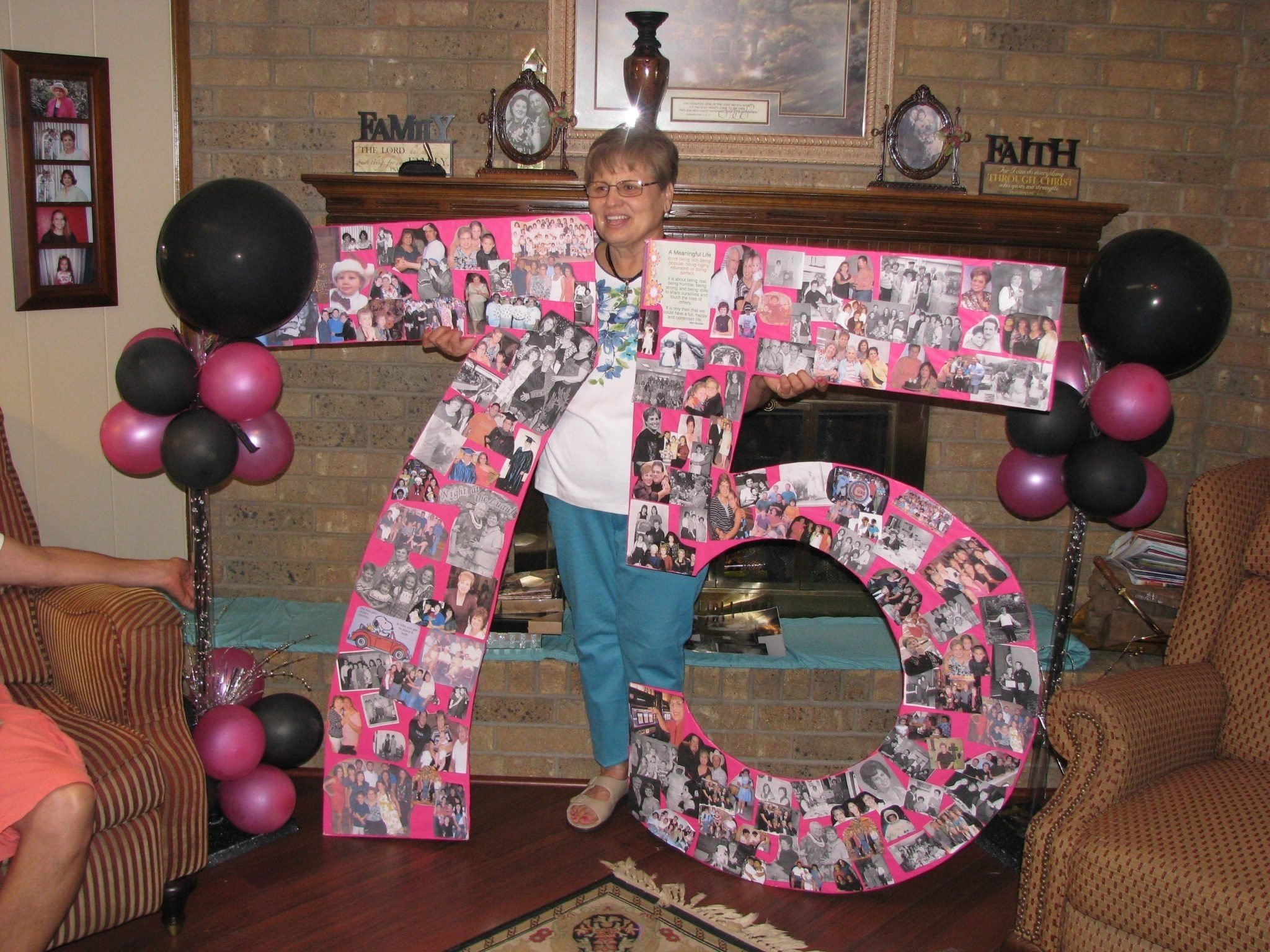 themes birthday : 75th birthday party ideas for mom with 75th