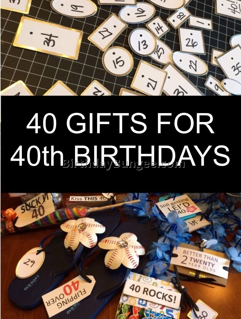10 Fabulous Ideas For Husbands 40Th Birthday Themes A Surprise 40th Party