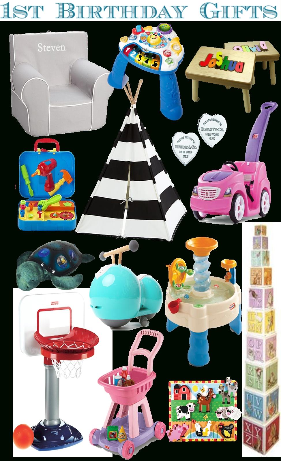 10 Pretty Girls First Birthday Gift Ideas