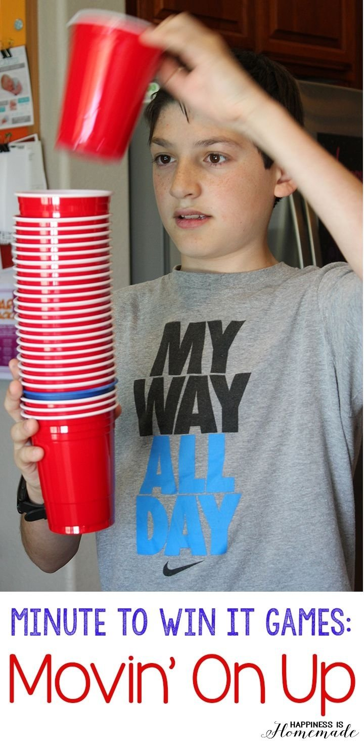 10 Fabulous Minute To Win It Game Ideas For Kids these 10 minute to win it games were perfect for all ages 2021